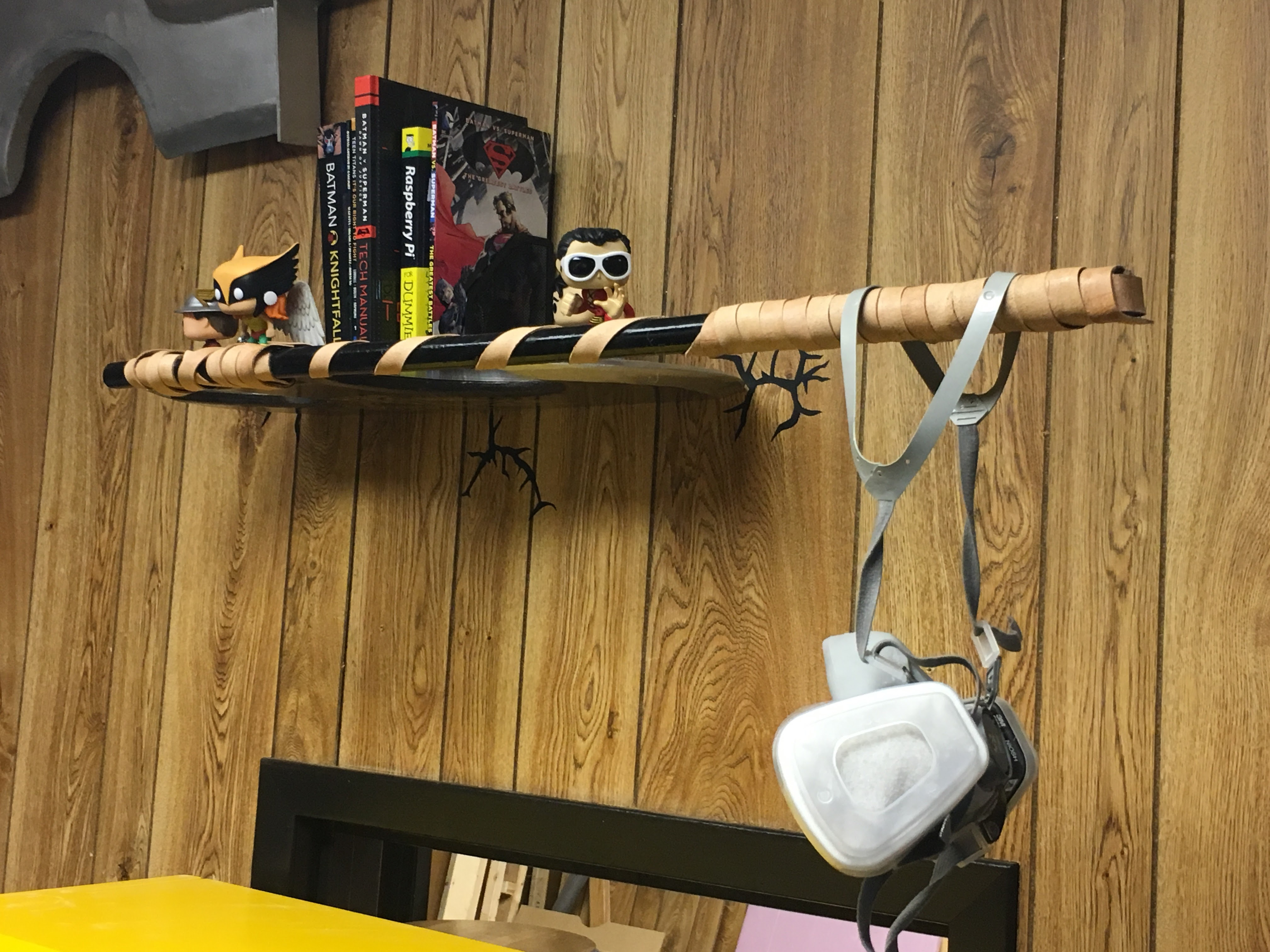 Picture of Viking Axe in Wall Floating Shelf