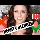 Makeup Tutorial Using ONLY the Beauty Blender
