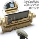 DIY Cardboard Ultimate Mobile Phone Mirror Stand