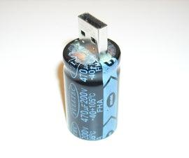 USB Flash Capacitor