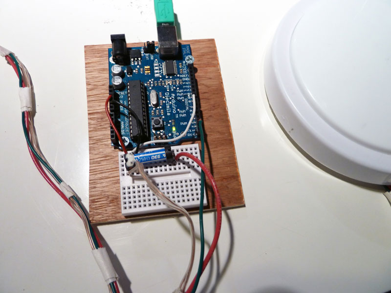 Picture of Adding a Relay Switch to the Light (optional)