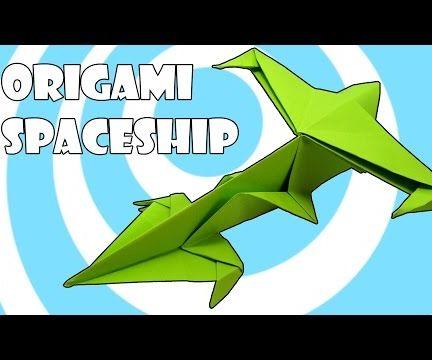 Origami Spaceship Fighter