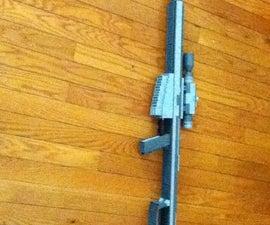 Lego Barret 50. Cal Sniper Rifle