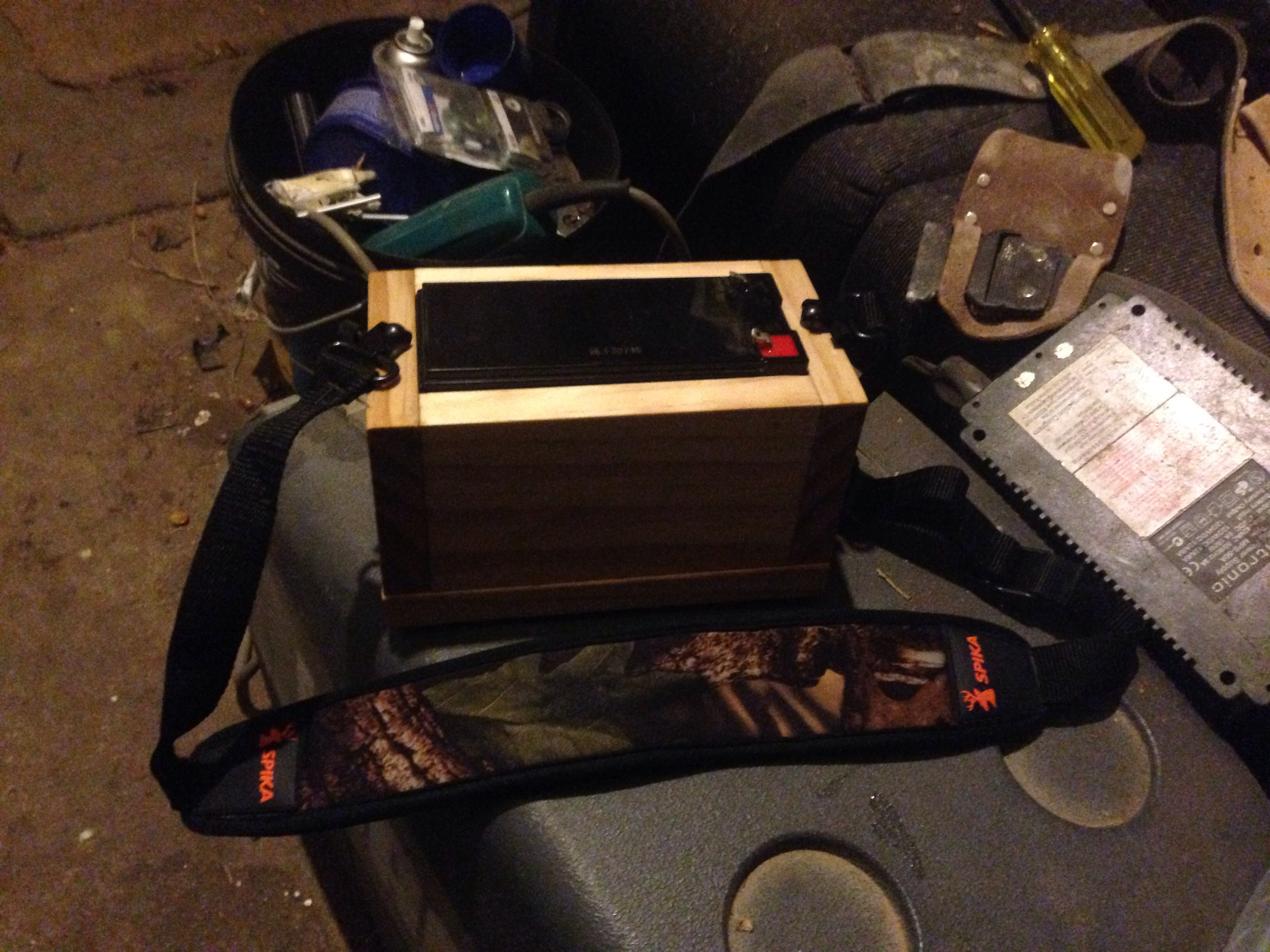 Picture of Spot Light Battery Box