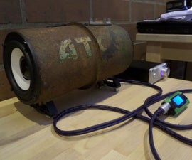 Lawn Mower Fuel Tank Speaker Box