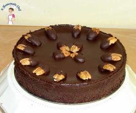 Chocolate Pecan Cake (flourless Chocolate Cake)