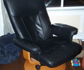 Leather Recliner Mod - Computer Chair