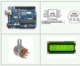 Arduino - 10 Ohm -- 1000 K Ohm – User Selectable Ohm Meter