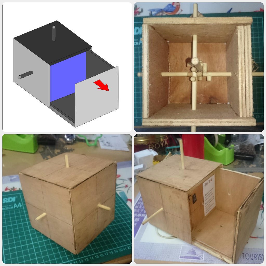 Picture of Cube Puzzle Prototype
