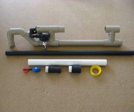 Pneumatic Golfball Cannon- Shoots 450+ yards!