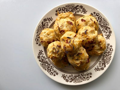 Cheese Puff Blossoms