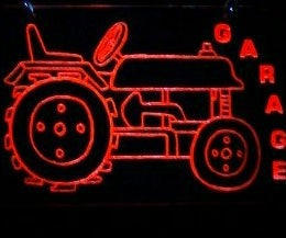 Acrylic Garage Sign-Board