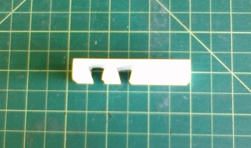 Cut Grooves in the Eraser