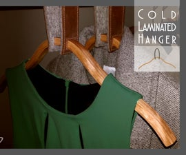 Laminated Wooden Hanger