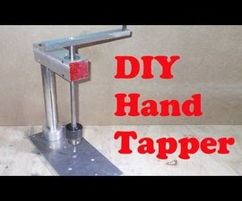 Homemade Hand Tapping Machine DIY Precision Handy Tapper