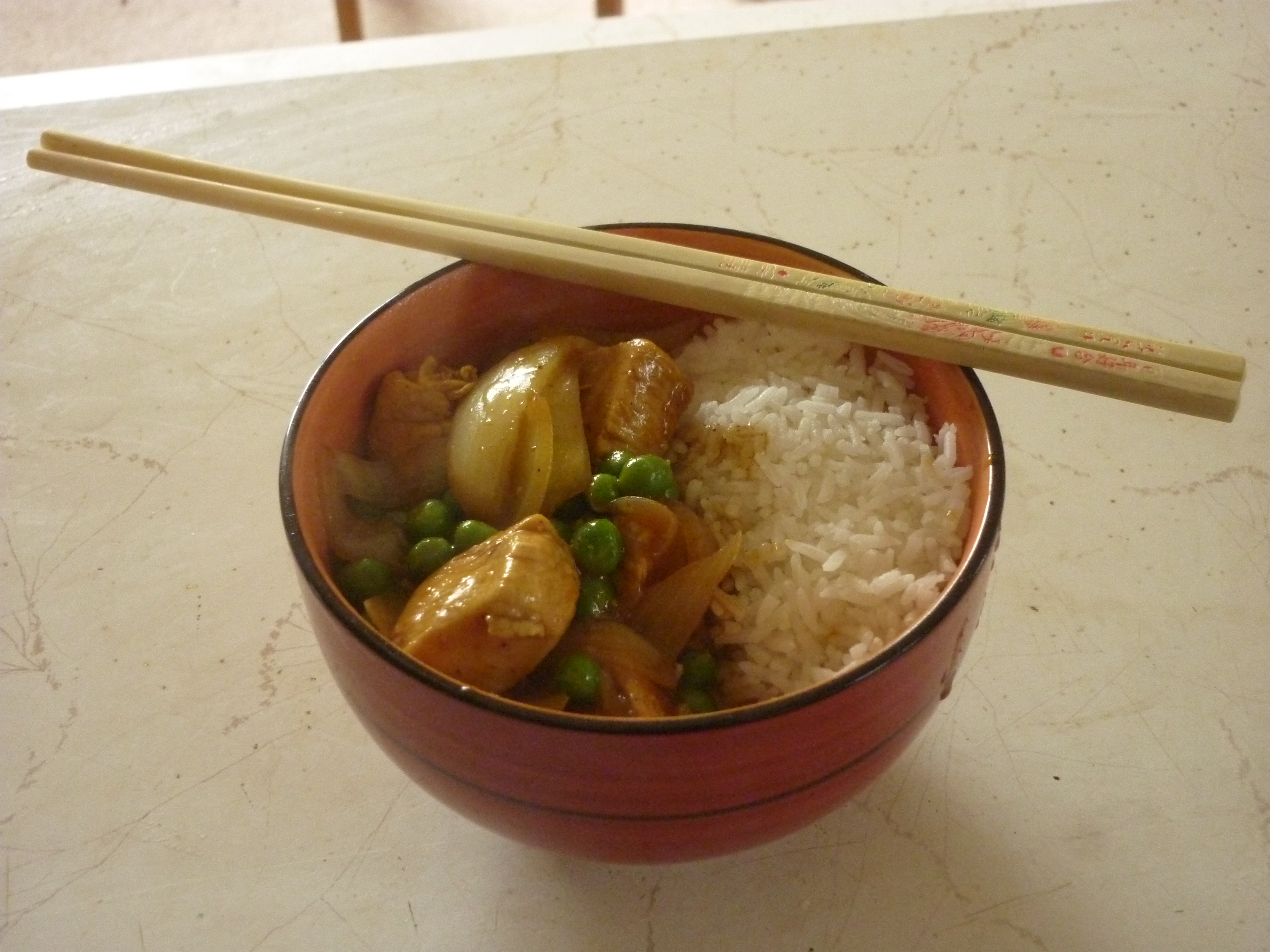 Picture of Scottish Chinese Chicken Curry