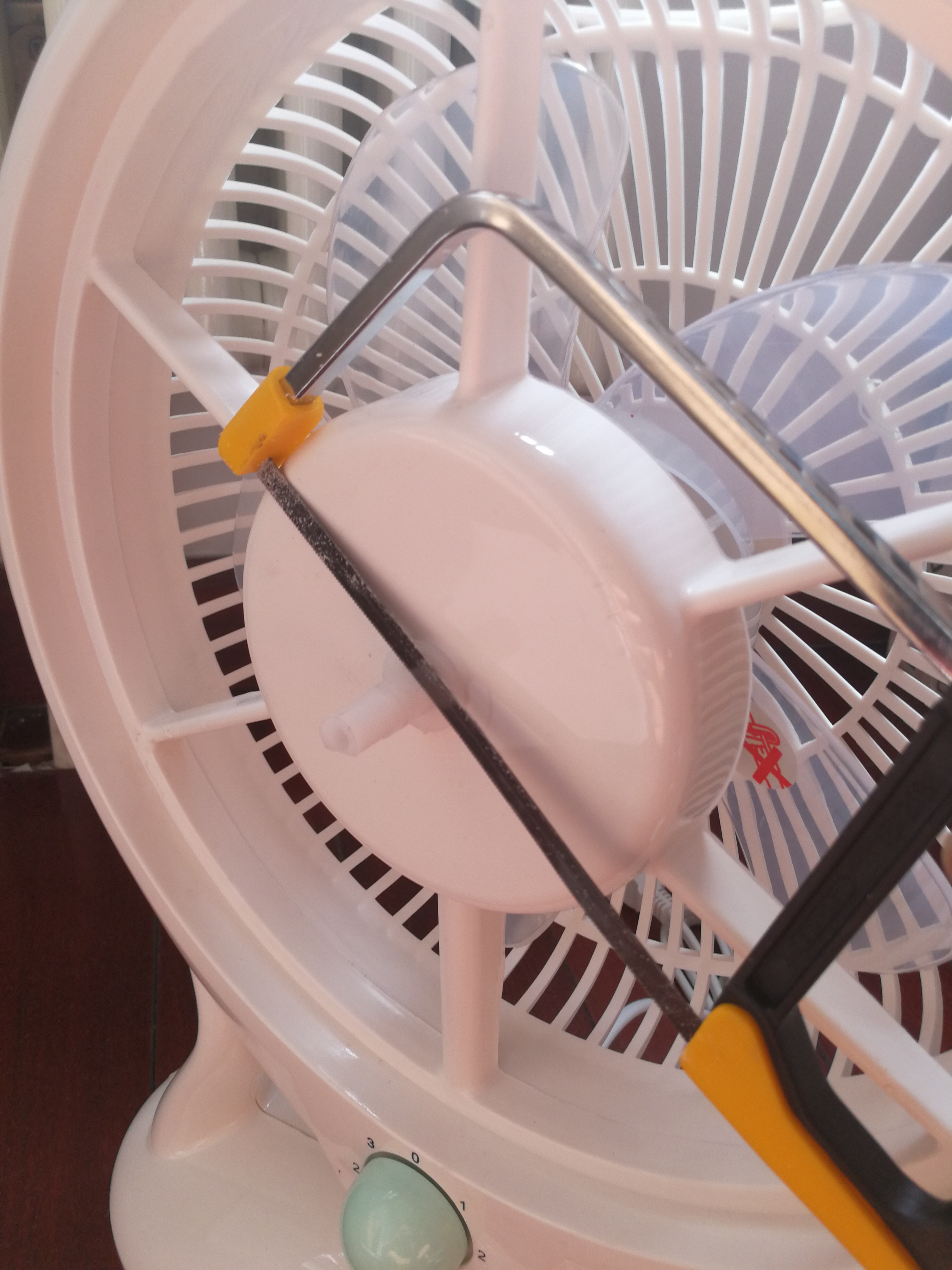 Picture of Making the Fan Flat