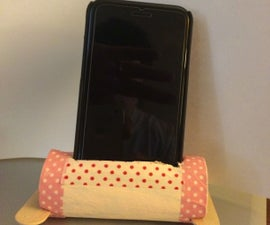 Toilet Paper Roll Speaker and Phone Holder