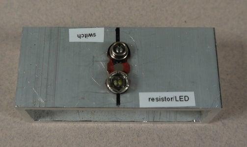 Bonus Step: a Jig for Assembling Flashlights