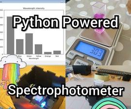 Python Powered Spectrophotometer!