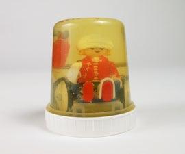 Urine Snow Globe