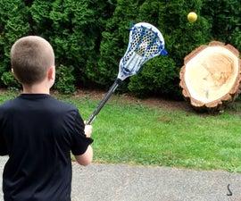 DIY lacrosse rebounder
