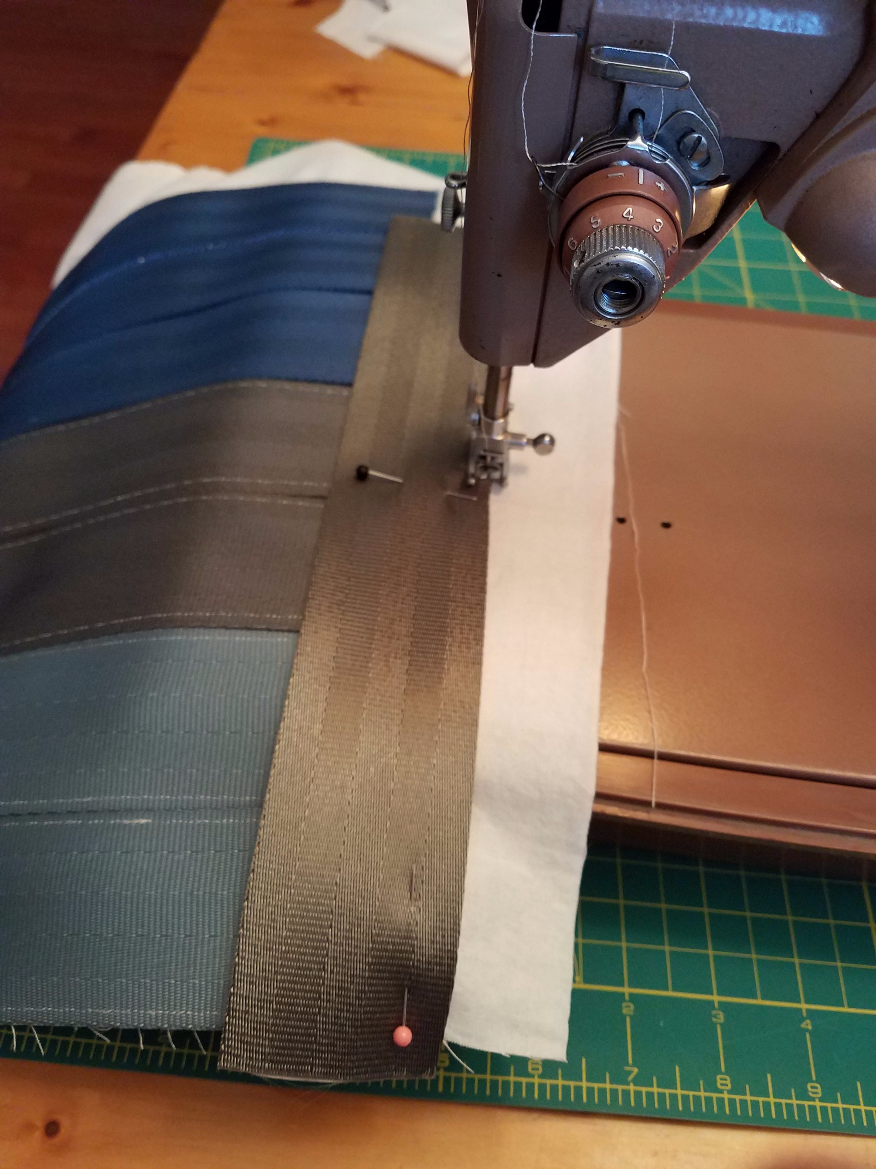 Picture of Sew Sides on Front and Back of Bag