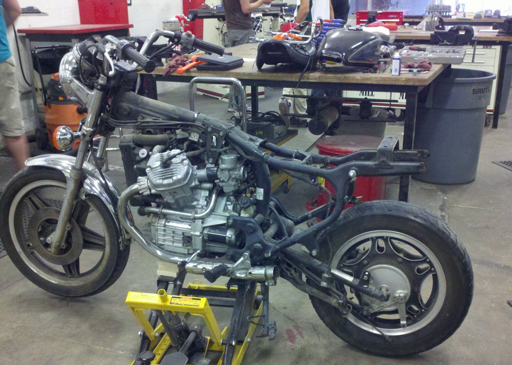 Changing Motorcycle Handlebars Yes Its That Ridiculously Simple Simplified Wiring Diagram For 78 Yamaha 1100 9 Steps