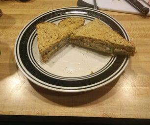 Cilantro Tuna Sandwich