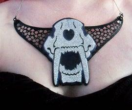 Smilodon Glam Gorget - Cosplay Jewelry Armor