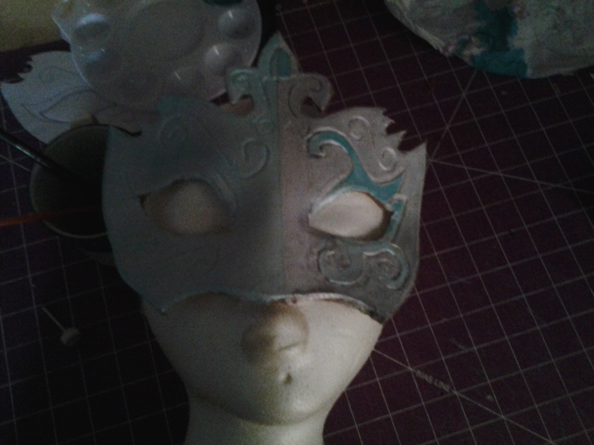 Picture of Wet Forming Your Mask