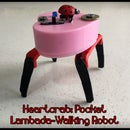 Heartcrab: a Lambada-Walking Robot in Your Pocket!