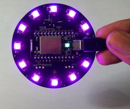 Particle Core - Motion Sensor Using Internet Button