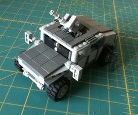 Lego Humvee