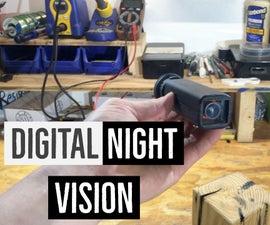 "DIY Pocket-sized Night Vision Monocular ""Eagle Scope 1.0"""