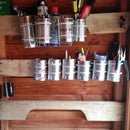 TrashTech #1 Cans and Planks Storage