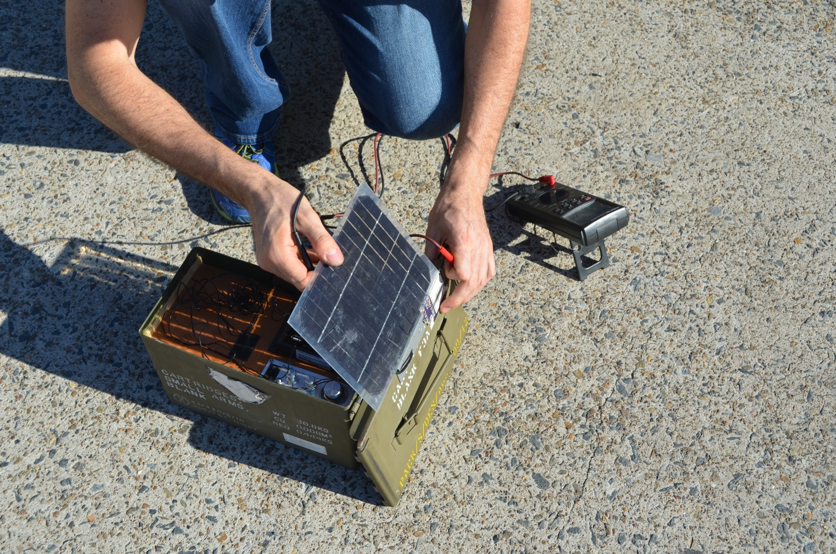 Picture of Add Solar Panel and Phone Charger
