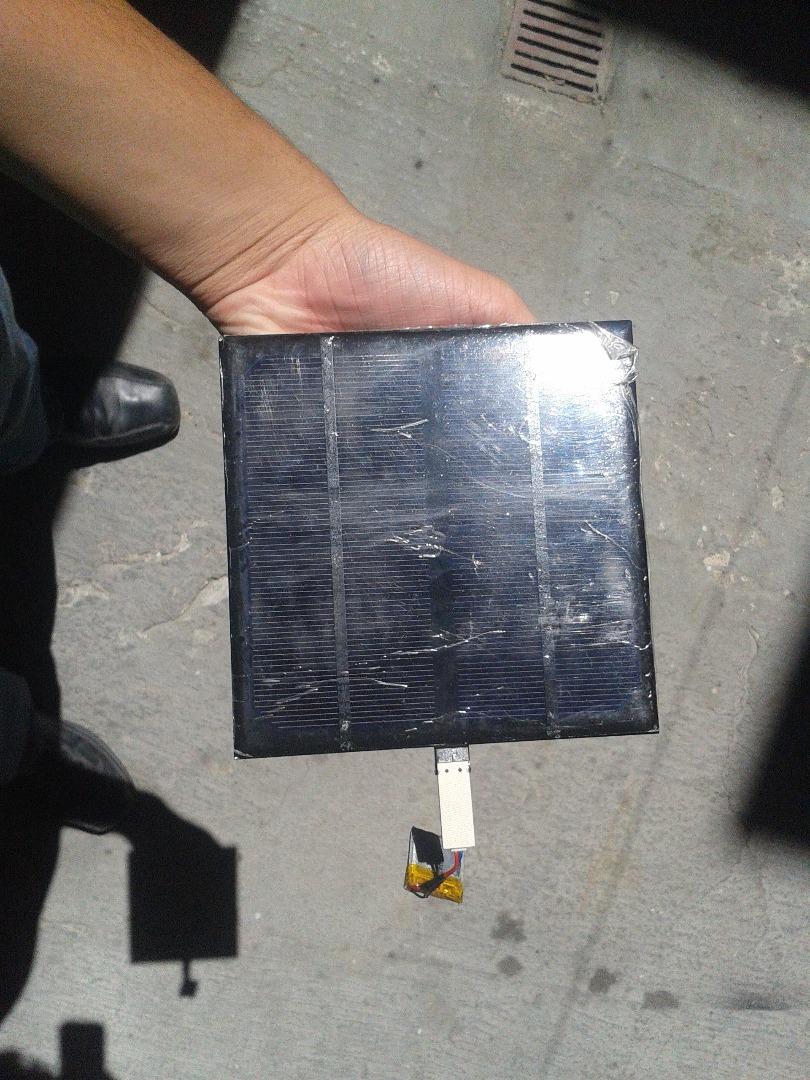 Picture of Cargador Solar USB Super Sencillo