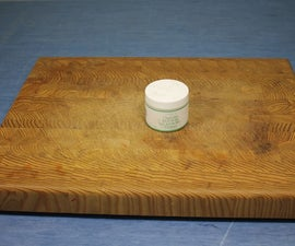 Finish a Cutting Board With Beeswax