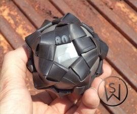 Dodeca Rubber Fidget Ball From Inner Tubes