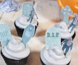 Walking Dead Cupcakes (Vegan)