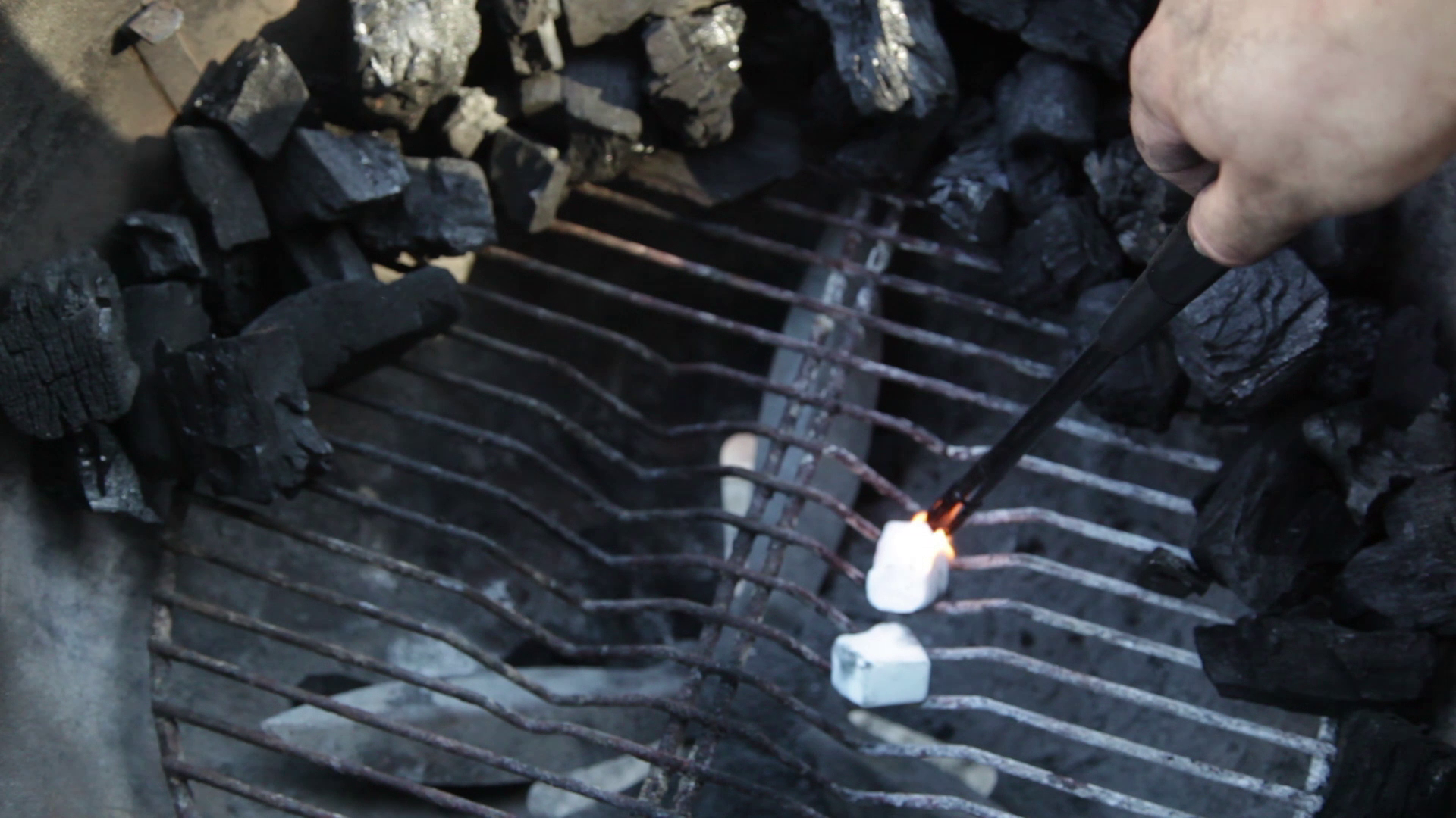 Picture of Now to Light the Chimney, Using a Chimney Is by Far the Easiest and Quickest Way to Light Charcoal.