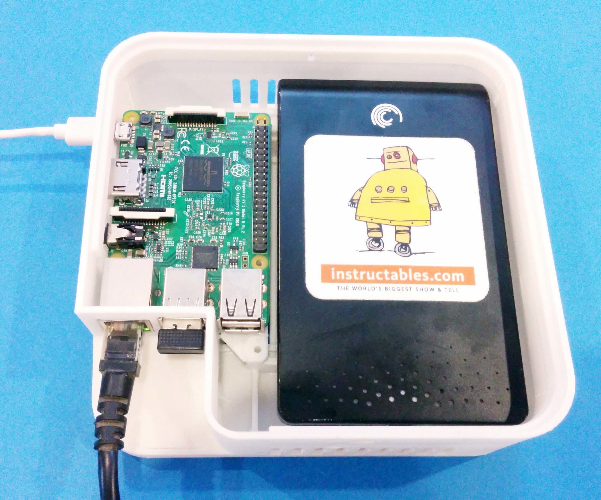 Raspberry Pi Nas Network Attached Storage 5 Steps With Pictures
