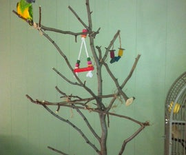 Parrot Play Gym on a Budget