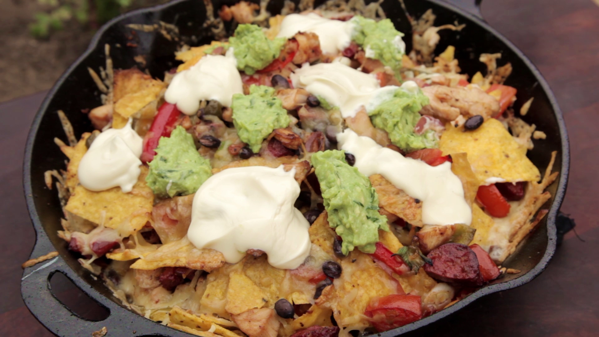 Picture of All That's Left to Do Is Top It With Some Guacamole and Some Sour Cream.