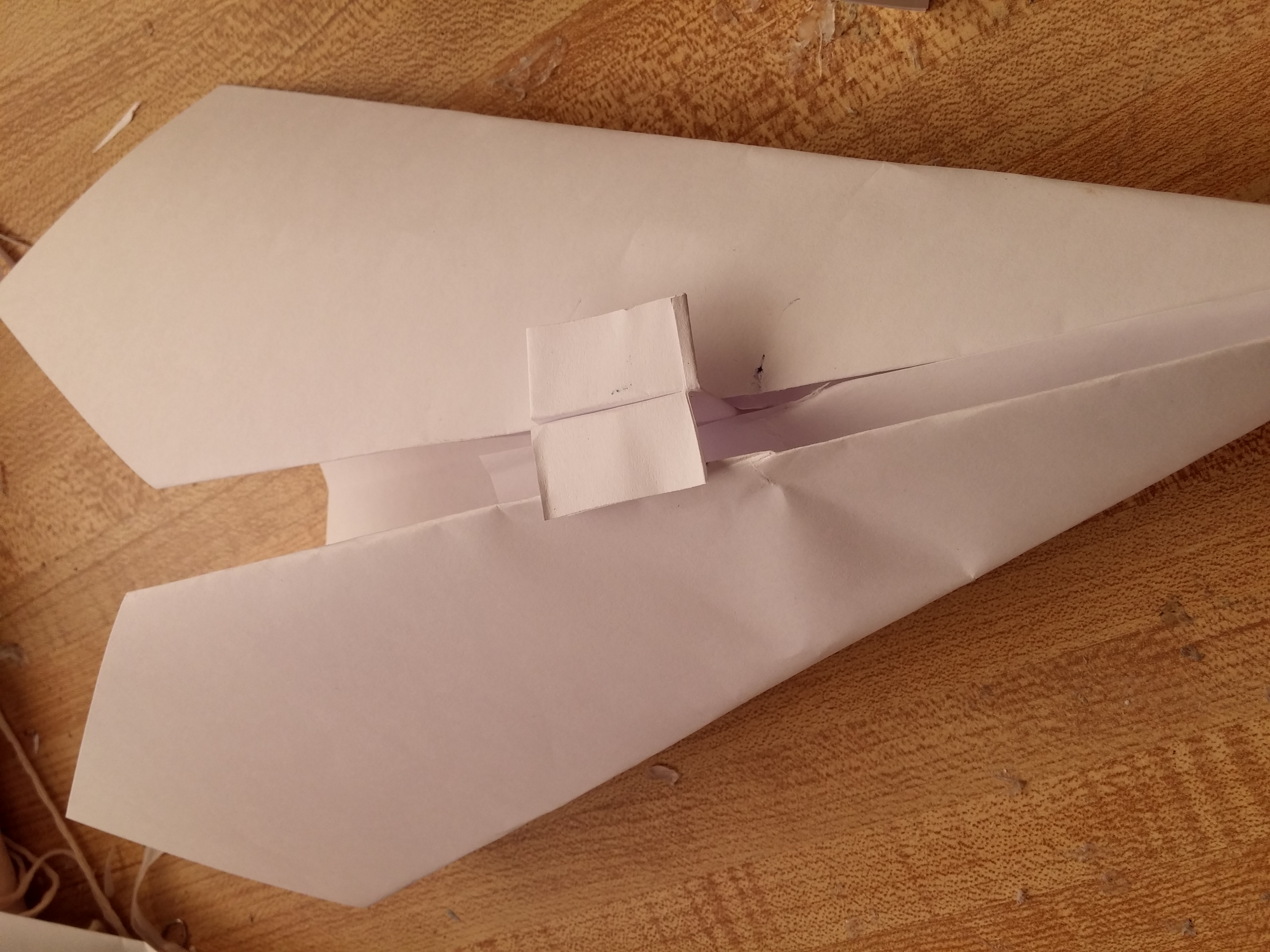Picture of Easy-to-make Paper Flying Wing