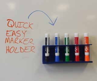 Quick, Easy Marker Holder