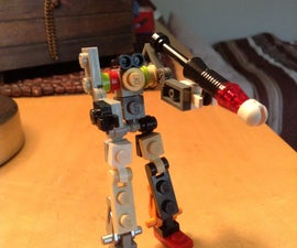Lego Robot And RPG