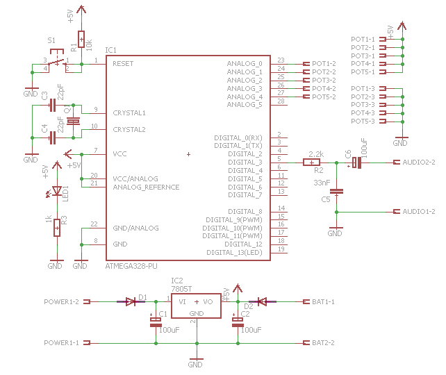 Picture of Schematic and PCB