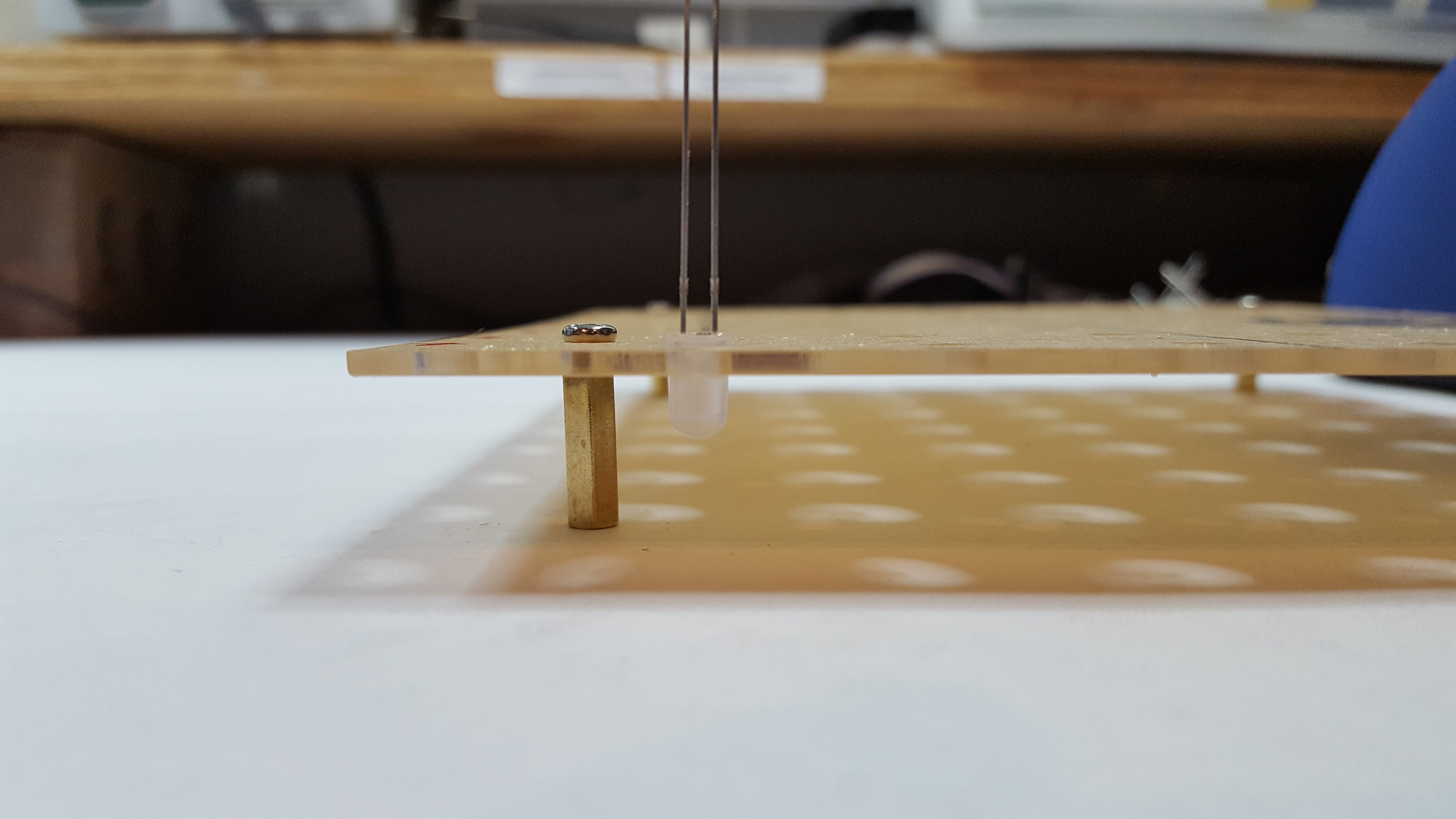 Picture of Jig to Build an 8 X 8 LED Wall